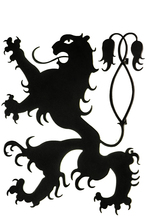 "Meyda Tiffany 141848 - 29""H Coors Lion LED Wall Art"