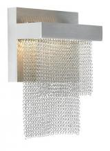 LBL Lighting WS698SSSCLED - Camelot Wall SS/SN LED 120v