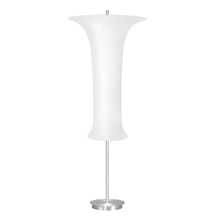 Sonneman 3146.10W - Three Light Aluminum Floor Lamp