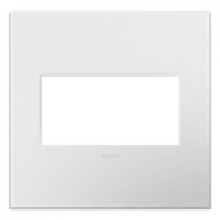 Legrand AWP2GWH4 - Gloss White, 2-Gang Wall Plate