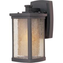 Maxim 85652CDWSBZ - Bungalow EE1-Light Wall Lantern