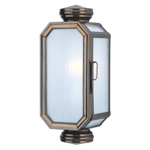 One Light Heritage Bronze Outdoor Wall Light