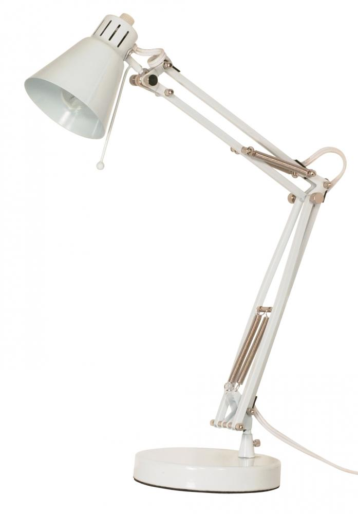 Mini Head Drafting Lamp White