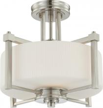 Nuvo 60-4713 - Wright 2 Light Semi-Flush