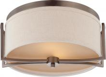 Nuvo 60-4861 - Gemini 2 Light Flush Dome