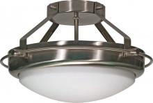 "Nuvo 60-609 - Polaris 2 Light 14"" Semi Flush"