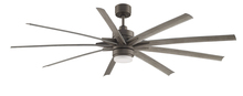 Fanimation FPD8149GRW - Odyn - 84 inch - GRW with WE Blades and LED