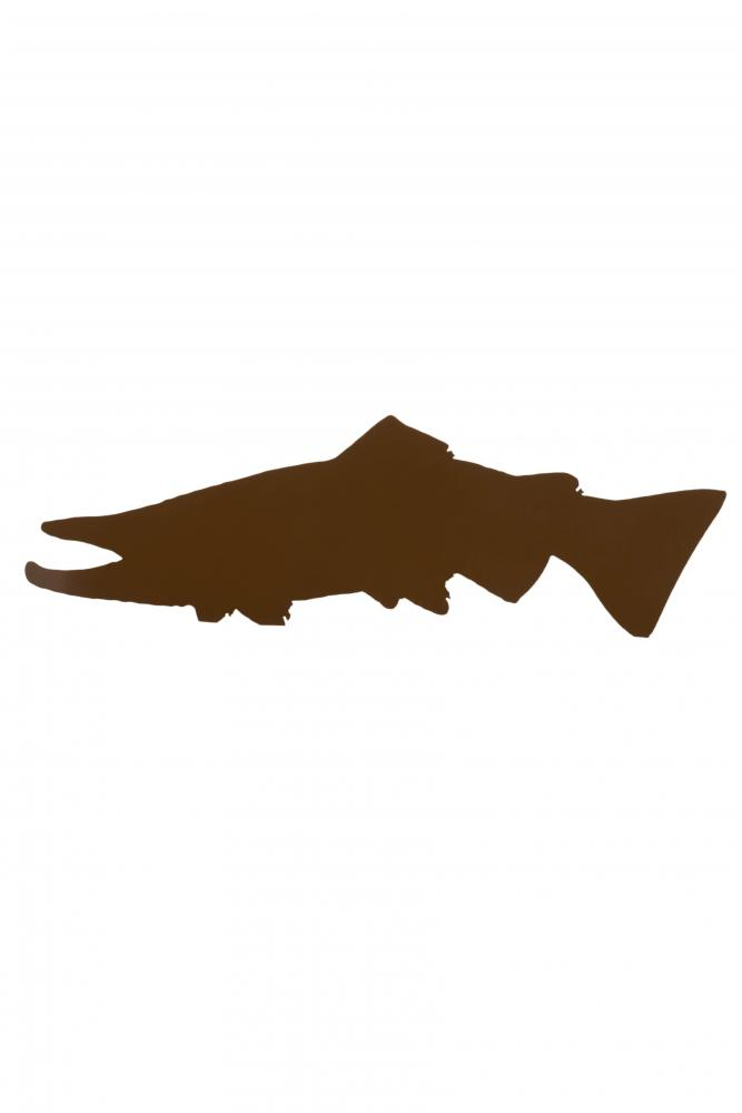 "30""L Pike Silhouette Wall Art"