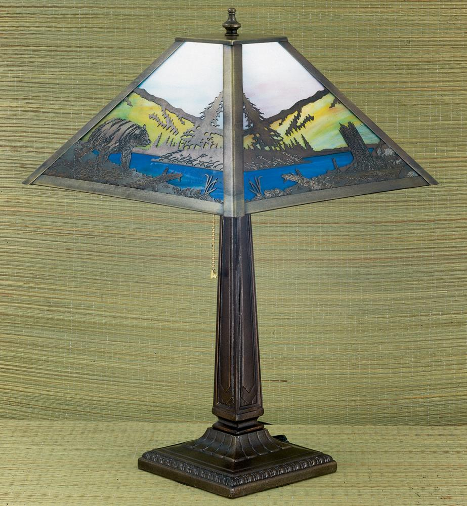 215h bear creek table lamp 26759 lighting group utah 215h bear creek table lamp geotapseo Choice Image
