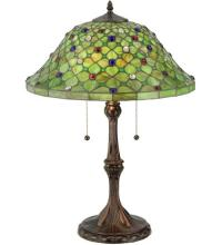 "Meyda Tiffany 127424 - 25.5""H Diamond & Jewel Table Lamp"